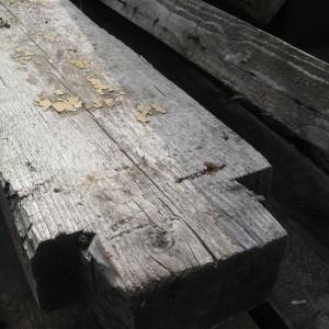 5.2. Balken in oude 18 de eeuwse den